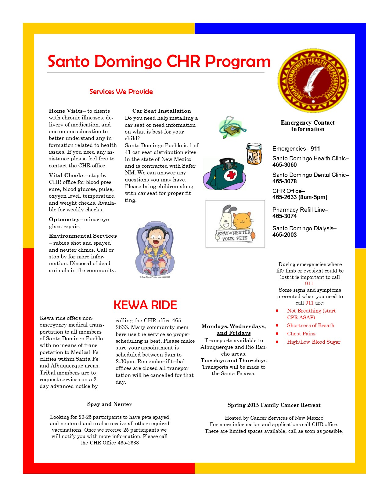 CHR March Newsletter